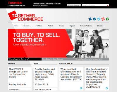 Toshiba Global Commerce Solutions lance un nouveau TPV, article du Blog Retail JLR